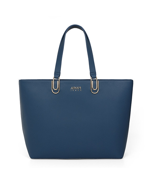 [알마니진] WOMAN SHOPPING BAG NAVY BLUE 793