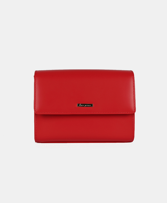[루나피에나] Sole Shoulder Bag Red