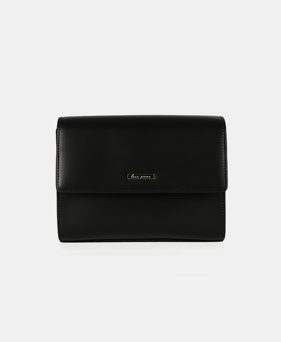 [루나피에나] Sole Shoulder Bag Black