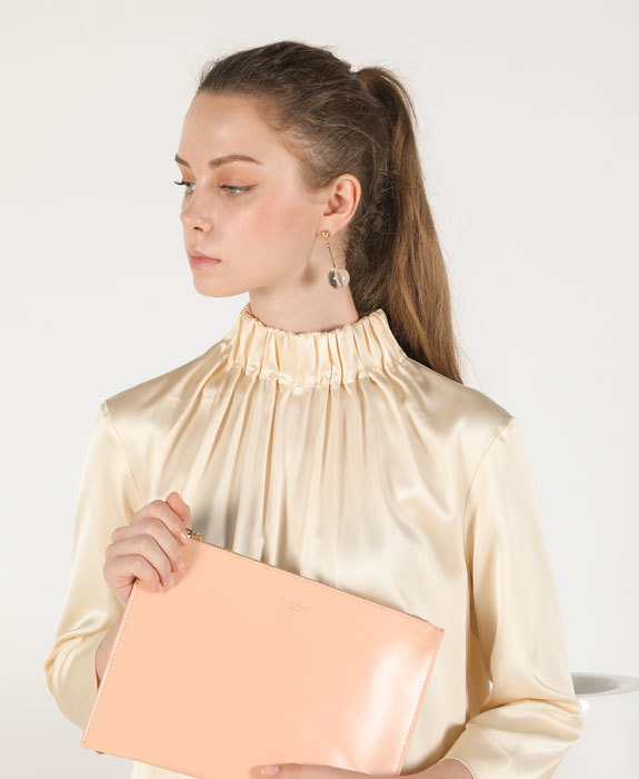 [수에노아] Nube Clutch Peach