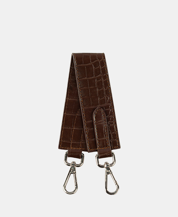 [록체] Claire Short Strap Choco Brown