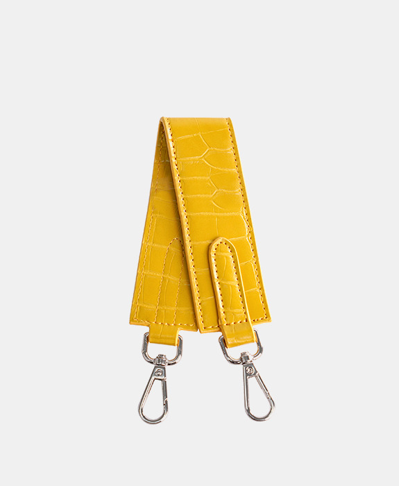 [록체] Claire Short Strap Yellow