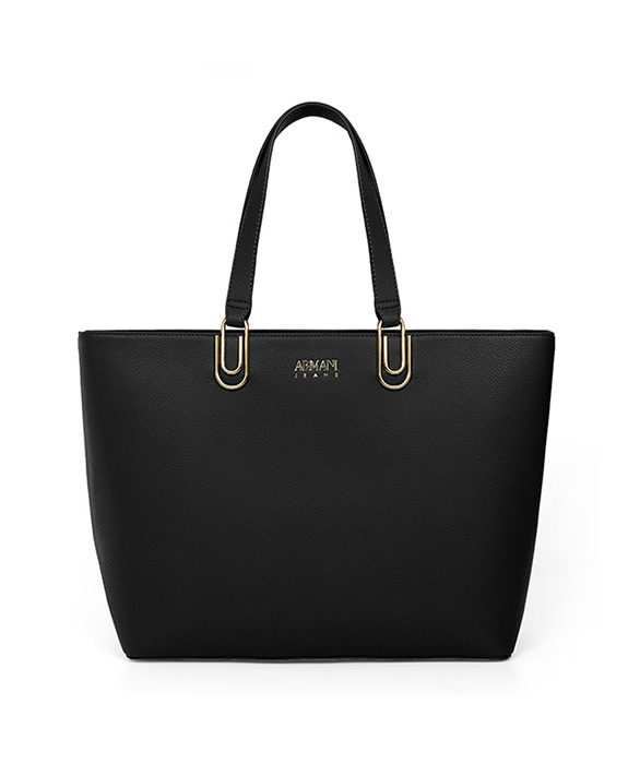[알마니진] WOMAN SHOPPING BAG BLACK 793