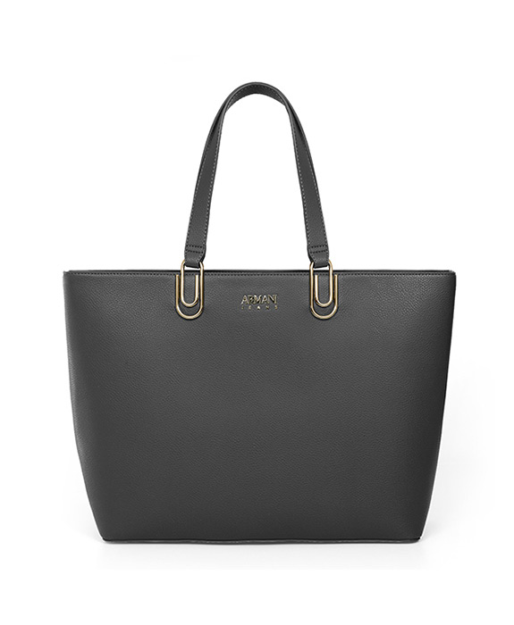 [알마니진] WOMAN SHOPPING BAG ANTRACITE GREY 793